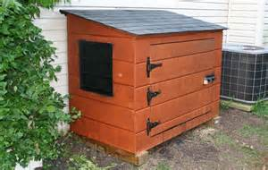 generator storage shed images