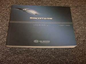 2009 Kia Sportage Crossover Owner Owner U0026 39 S User Guide