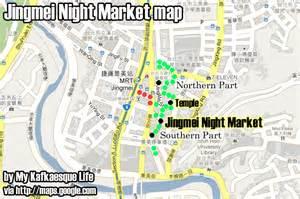 Taipei Night Market Map