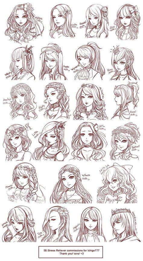 anime hairstyles styles  anime hair anime eyes