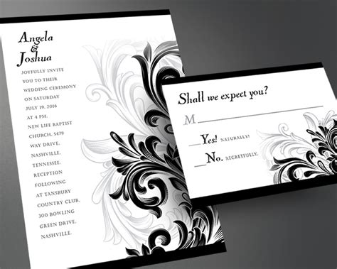 Wedding InvitationPrintable Wedding by InvitesByAllan