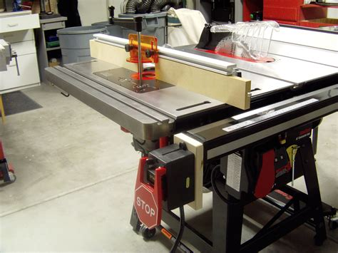 sawstop table saw dimensions sawstop contractor saw review router forums