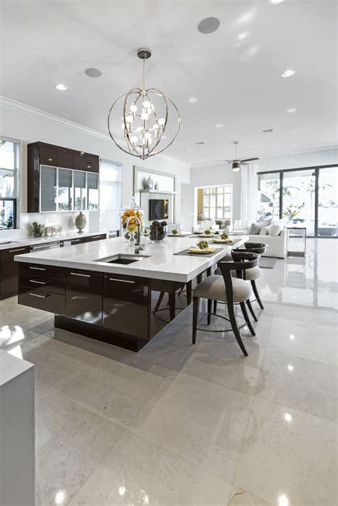 modern kitchen lighting ideas  pinterest contemporary open kitchens modern kichen