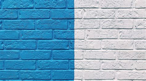 blue  white creative wall paint hd wallpaper background