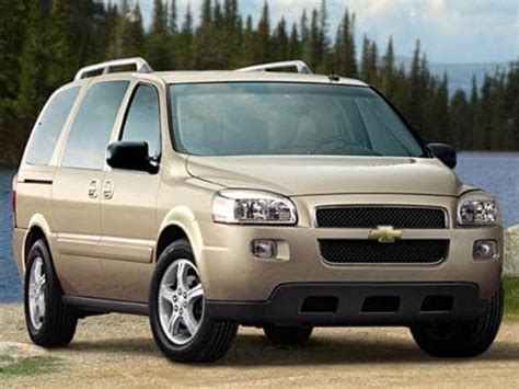2017 Chevy Uplander by 2007 Chevrolet Uplander Passenger Pricing Ratings