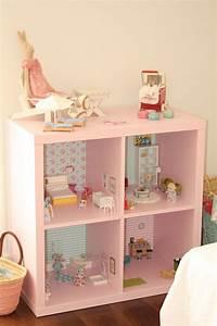 Kleines Regal Ikea : 2 in 1 puppenhaus selber bauen ikea regale umfunktionieren ~ Watch28wear.com Haus und Dekorationen