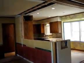 galley kitchen open floor plan remodel  homework