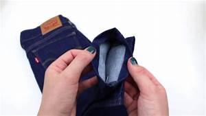 Faire Ourlet Jean : diy tuto faire un ourlet de jean how to hem jeans easy diy couper son jean youtube ~ Melissatoandfro.com Idées de Décoration