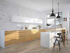 interieur moderne inspirations scandinaves With idee deco cuisine avec cuisine scandinave moderne