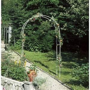Arche De Jardin En Fer Forgé : arche de jardin en fer forg louisie arches de jardin en ~ Premium-room.com Idées de Décoration
