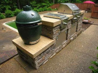 outdoor kitchen with big green egg outdoor kitchen island with big green egg smoker 80003 9025