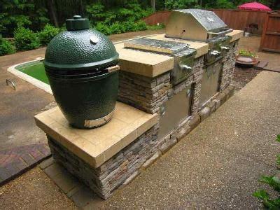 outdoor kitchen green egg outdoor kitchen island with big green egg smoker 80003 3855
