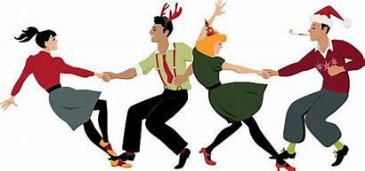 Dance Christmas Party Swing Dancing Rock Roll