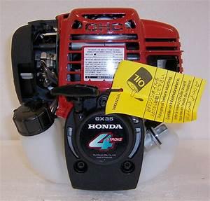 Honda Horizontal Engine 1 3 Hp 35cc Mini 4 Stroke Ohc  Gx35