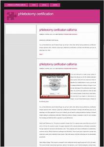 phlebotomy certification california With california phlebotomy license