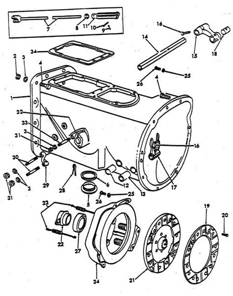 Ford Tractor Parts Diagram Auto Wiring