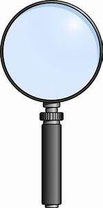 Magnifying Glass Clipart Black And White   Clipart Panda ...
