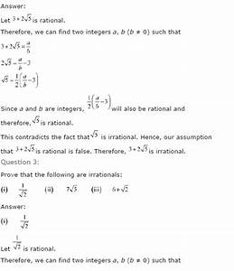 Ncert Solutions For Class 10th Maths  Chapter 1