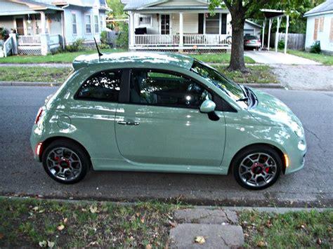 I Want This Car! New Mint Fiat 500