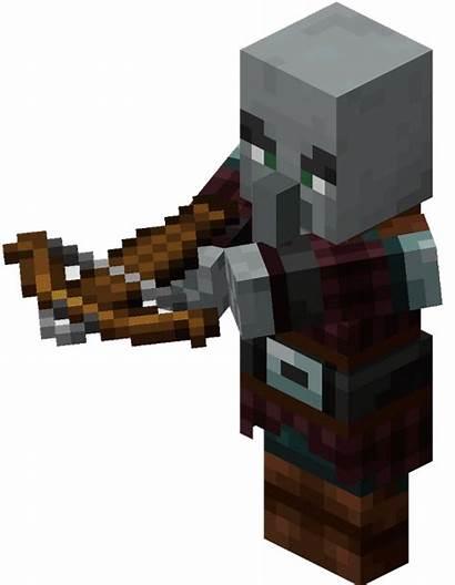 Minecraft Pillager Transparent Icon Dlf Exiliado Wiki