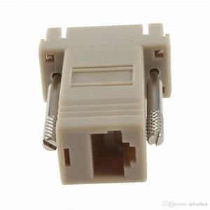 2020 Network Cable Adapter Vga D Sub Db9 Extender Male To