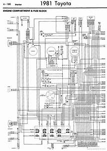 Toyota Starlet 1981 Wiring Diagrams