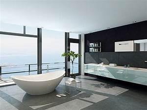 plan salle de bain en carrelage et pierre naturelle With meuble cuisine petit espace 17 carrelage balcon de luxe escalier exterieur pierre