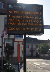 Panneau Lumineux Message : site officiel de la commune de geudertheim affichage lumineux ~ Teatrodelosmanantiales.com Idées de Décoration