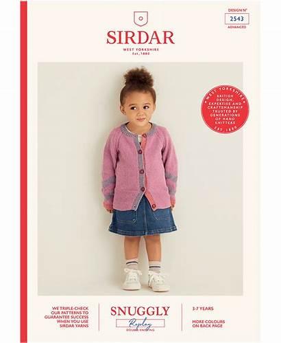 Cardigan Sirdar Replay Knitting 2543 Snuggly Cardigans