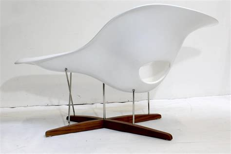 la chaise eames eames vitra white la chaise chair at 1stdibs