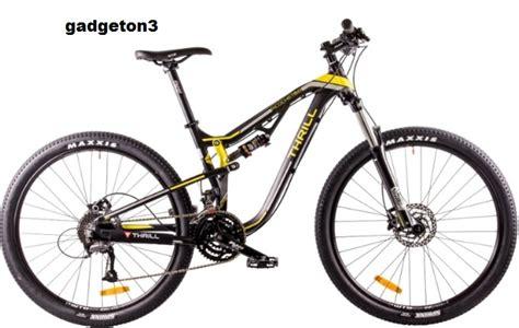 sepeda mtb thrill ricochet 3 0 spesifikasi harga thrill ricochet 6 0 ae gadgeton3