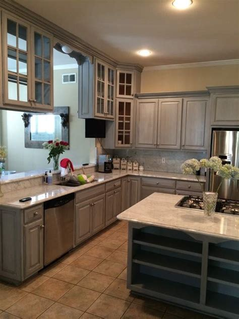 kitchen cabinets painted gray sloan chalk paint grey cabinets www resnooze 6297