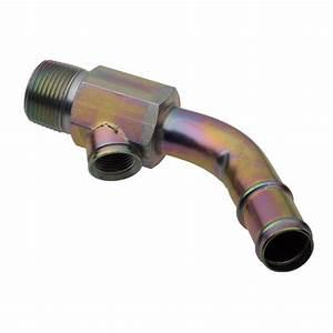 Ford 4 9l Hot Water Hvac Radiator Coolant Temp Sensor Elbow Connector Tube Oem
