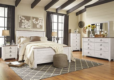 willowton bedroom suite hom furniture