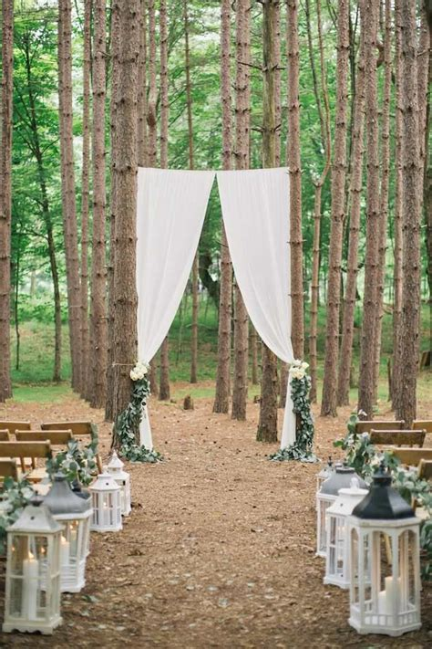 25 Best Ideas About Wedding In The Woods On Pinterest