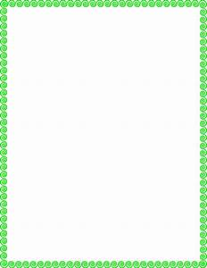 Green Page Borders - ClipArt Best