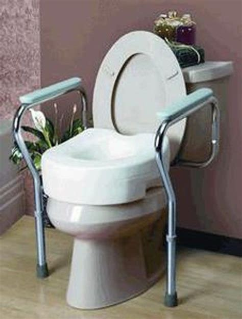 handicap portable toilet chair new toilet seat commode safety grab bar frame adjustable