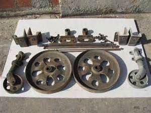 Antique Industrial Cart Wheels