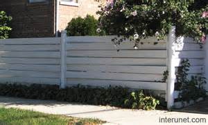 Horizontal Vinyl Fence Designs