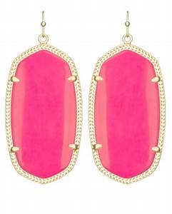 Danielle Earrings in Neon Pink Kendra Scott Jewelry