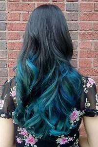 Blaue Haare Ombre : die besten 25 blaue haarspitzen ideen auf pinterest blaue spitzen blaue ombr haare diy und ~ Frokenaadalensverden.com Haus und Dekorationen