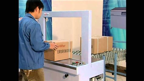 ap fully automatic strapping machine youtube