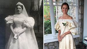 bride will be 11th in family to wear 120 year old wedding With old lady dresses for weddings
