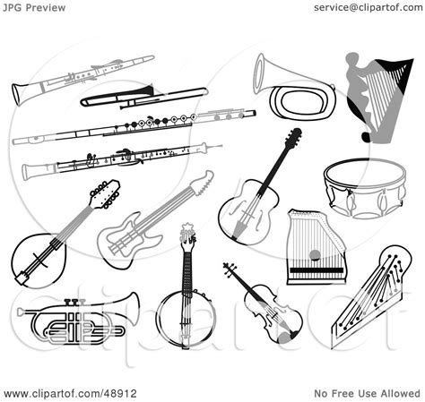orff instrument coloring pages