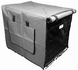 grey waterproof dog crate covers With waterproof dog kennel cover