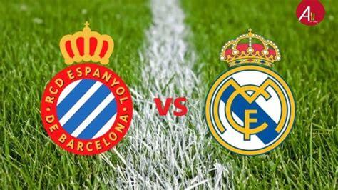 Espanyol vs Real Madrid Live Score (28/06/2020) - YouTube