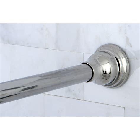 chrome adjustable shower curtain rod ebay