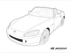 Cool Car Drawings Outline