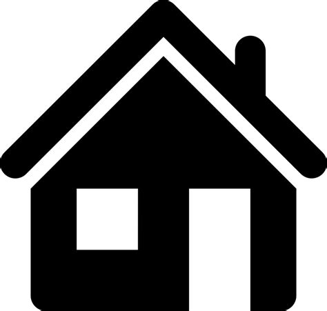 home icon black and white home svg png icon free 416829 onlinewebfonts