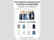 Create a French Minimalist Capsule Wardrobe 10 Summer
